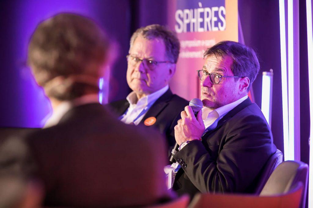 Olivier Vallet au Symposium 2019 Les 3 Sphères