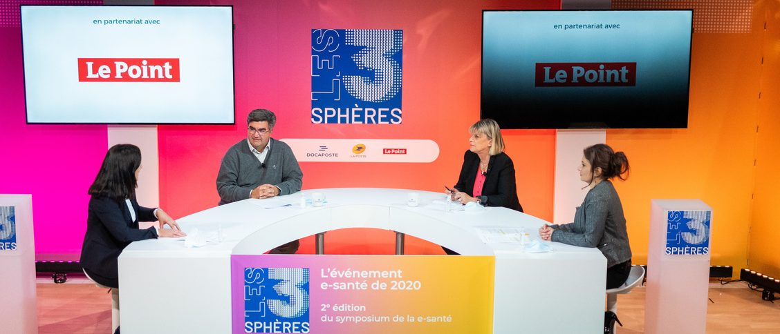 Table ronde Les 3 Sphères - startup